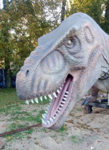 Перевозка динозавра