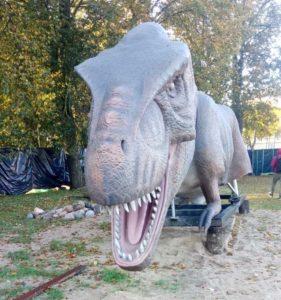 Транспортировка динозавра