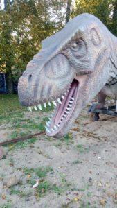 Перевезти динозавра