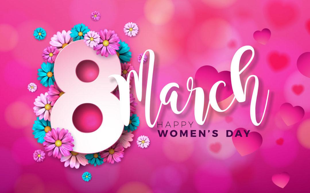 Вітання з Міжнародним жіночим днем
