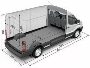 конструкция грузового микроавтобуса
